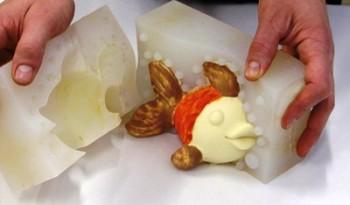 stampi in silicone alimentare per cioccolato
