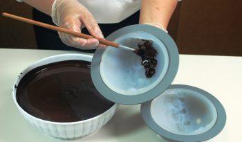 stampi in silicone per cioccolato
