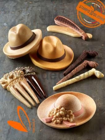 stampi per oggetti di cioccolato