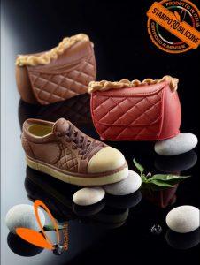 stampi per scarpe in cioccolato