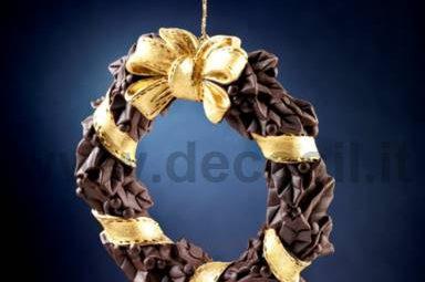 decorazioni di cioccolato per Natale