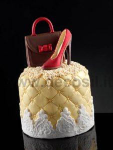 stampo per scarpe in cioccolato