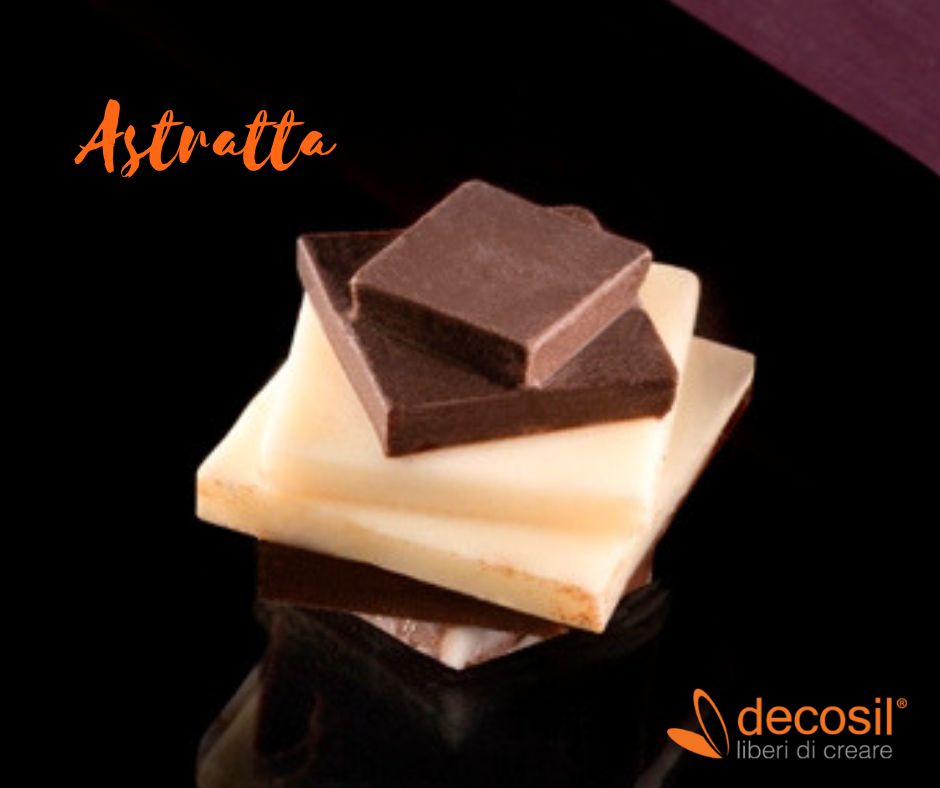 stampi per cioccolatini pralina astratta